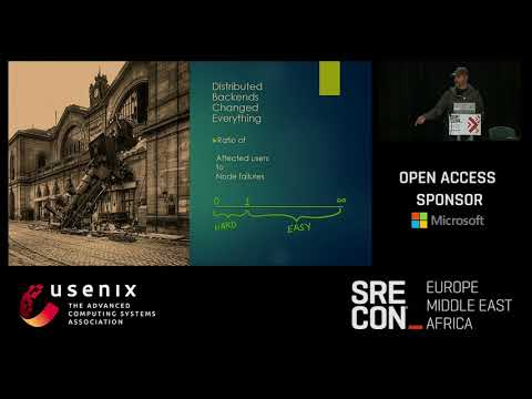 SREcon17 Europe/Middle East/Africa - Distributed Systems, Like It or Not