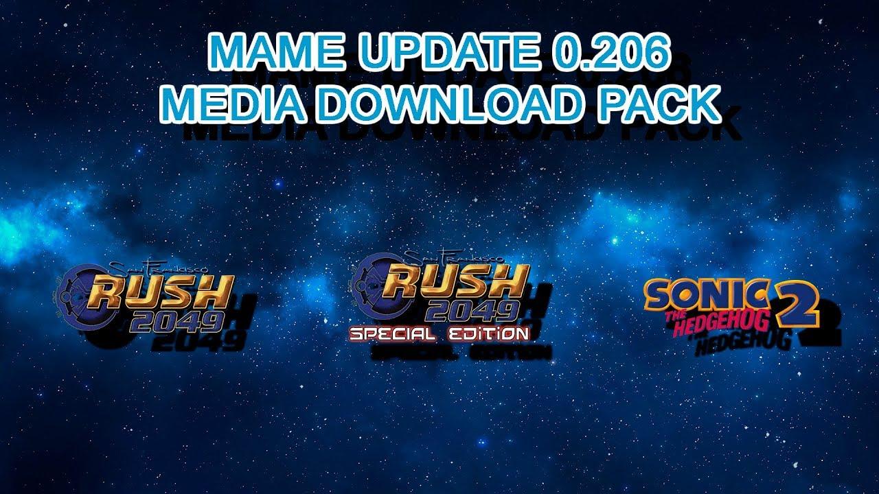 MAME Update 0 206 Media Download Pack