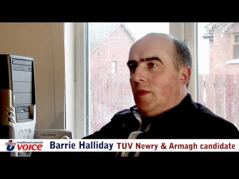 TUV Newry & Armagh Assembly candidate Barrie Halliday