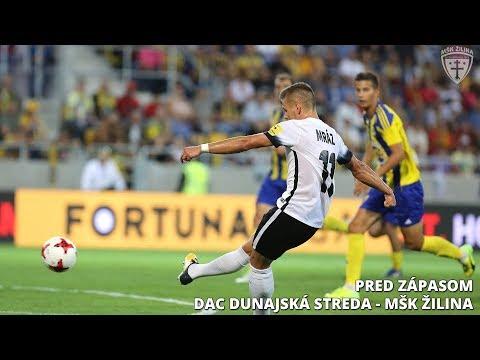 Pred zápasom FK DAC 1904 Dunajská Streda - MŠK Žilina