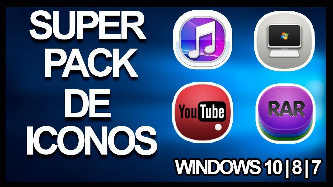fa6a13e3f7a9d Super Pack de ICONOS para Windows 10 8 7