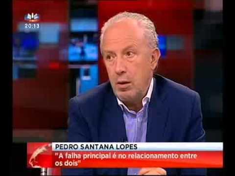 Pedro Santana Lopes - Jornal da Noite (SIC) 04.07.2013