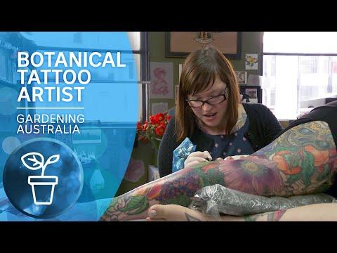 Botanical Tattoo Artist