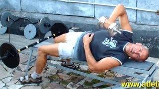 Упражнение для внешней части трицепса(У нас Вы можете заказать индивидуальную (персональную) программу тренировок по интернету: http://atletizm.com.ua/personal..., 2012-09-15T06:23:12.000Z)