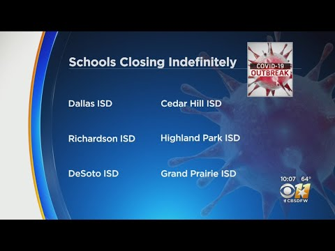6-north-texas-school-districts-close-schools-indefinitely-during-coronavirus-outbreak