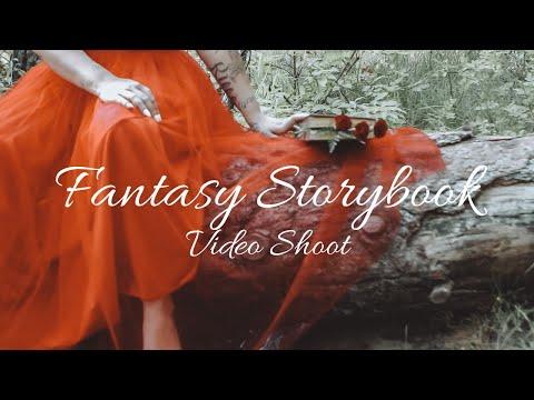 Fantasy Storybook Cinematic Video Shoot