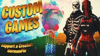 25€ 🔴DUO CUSTOM GAMES TURNIER + LOSING! | ALTE SKINS IN SHOP🛒 | Fortnite Live English