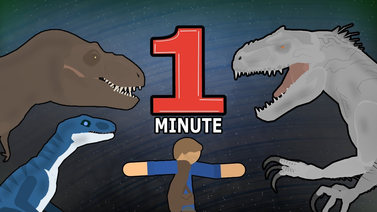 Jurassic World... But In One Minute