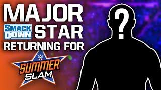 Major WWE SmackDown Star Returning For SummerSlam 2021 | Top AEW Star Planning Babyface Turn