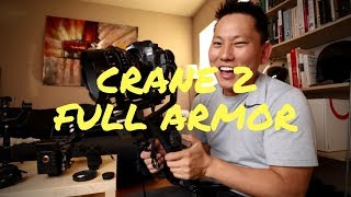 Zhiyun Crane 2 Full Armor Version | By Potato Jet | Canon | Accessories