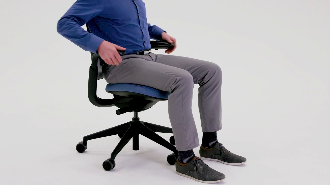 Steelcase Series 1 - Adjustability Video