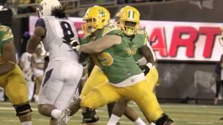 Oregon Ducks Football Jake Fisher, OT- Highlights