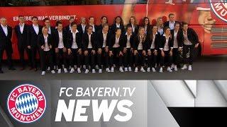 FCB Women travel to Paris