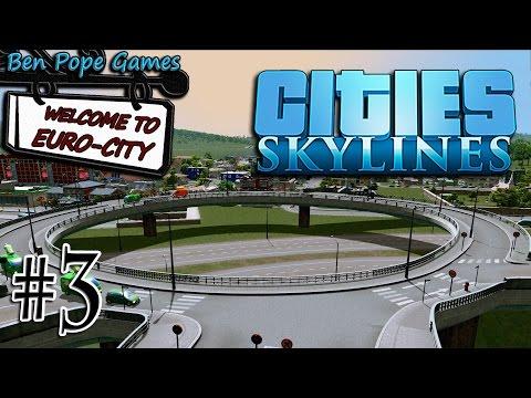 Cities: Skylines - (European Themed City) - #3 Vinkeveen & Custom Interchange