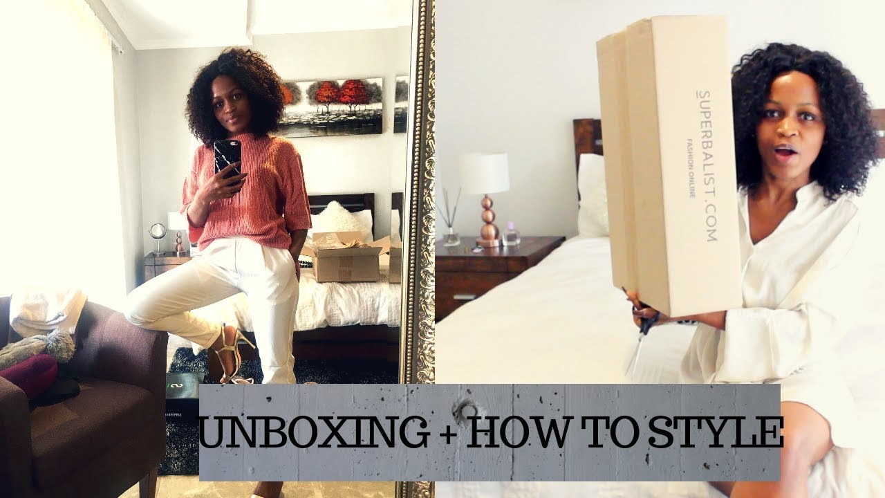 I got him a present | Unboxing + How to style