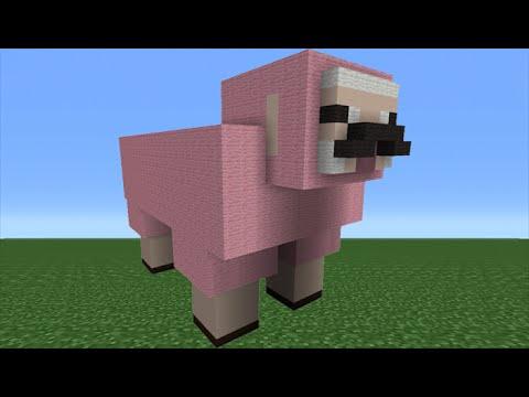 Pink sheep explodingtnt - photo#51