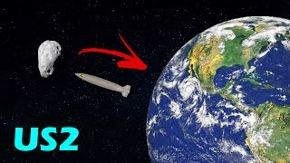 STOPPING AN ASTEROID WITH A NUKE (Asteroid)! - Universe Sandbox 2