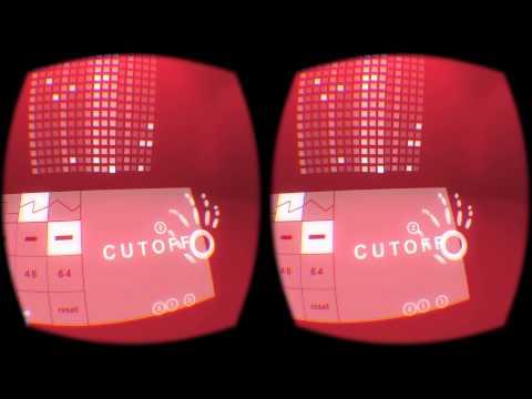 Tonematrix + Leap Motion VR