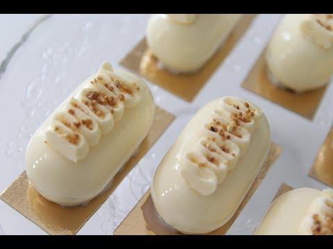 mini-entremets-banane-et-mousse-chocolat-blanc