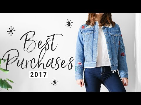 MOSTWORN FASHION 2017!!!  my top 10 purchases!!