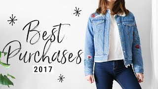 MOST-WORN FASHION 2017!!!  my top 10 purchases!!