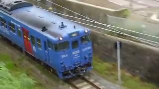 [警笛あり]JR九州 キハ66系 長崎本線「早岐行き」諫早駅付近通過