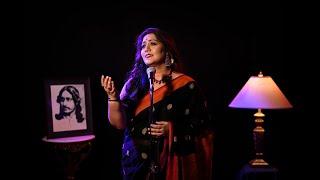 Amar mollikabone jokhon prothom dhoreche koli by Jayati Chakraborty     Tagore song    Photomix-1