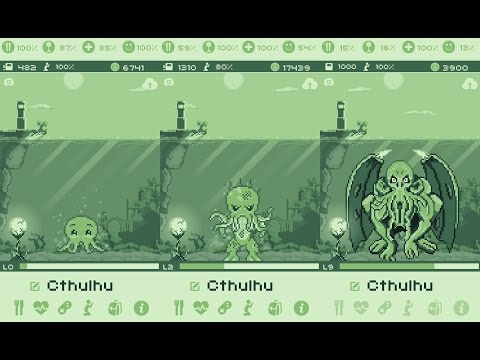 Cthulhu Virtual Pet | Evolution
