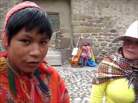 Niños Quechuas En Ollantaytambo Youtube