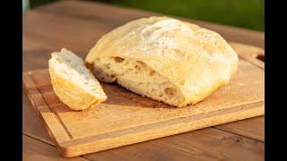 ДО ПОСЛЕДНЕЙ КРОШКИ Домашний хлеб чиабата
