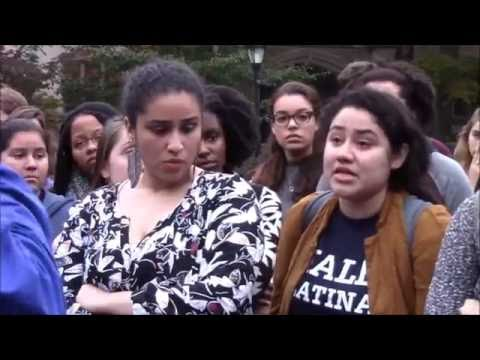 Yale University - New Videos of Halloween Email Protest
