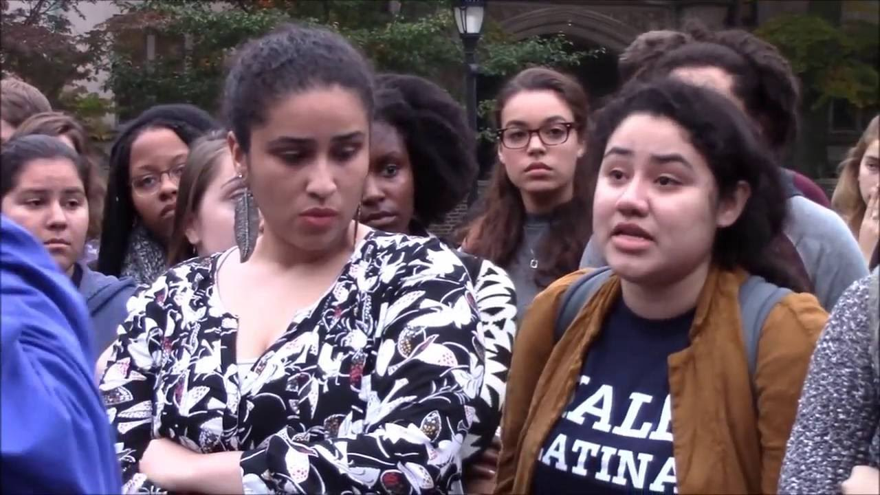 Yale University - New Videos of Halloween Email Protest - YouTube