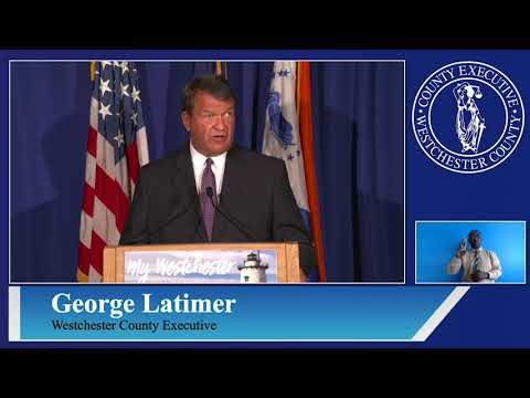 Westchester County Executive George Latimer's COVID-19 briefing on Monday, Aug. 3.