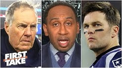 Stephen A. explains what Tom Brady & Gronk's reunion says about Bill Belichick | First Take