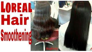 L'Oreal Hair Smoothing at Salon Style