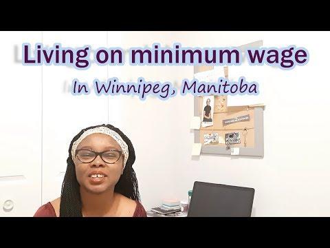 Living On Minimum Wage In Manitoba