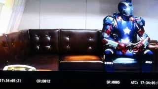 Iron Man 3 - Deleted Scenes: Hey is that Thor?