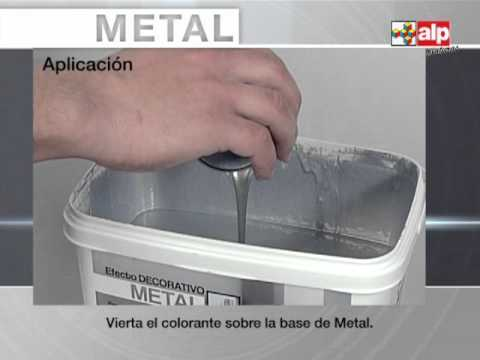 Efecto metal youtube - Toile de paillage leroy merlin ...