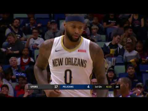 San Antonio Spurs vs. New Orleans Pelicans - November 22, 2017