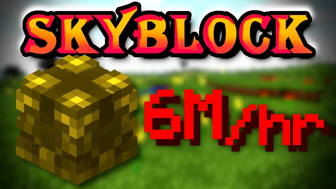 The new best money making method (6M per hour) | Solo Hypixel SkyBlock [210]