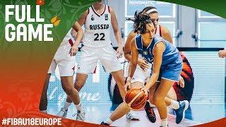 Russia v Italy - Full Game - Classification 9-12 - FIBA U18 Women's European Championship 2017