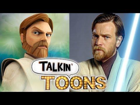 How To Create ObiWan Kenobi's Voice Talkin' Toons w Rob Paulsen
