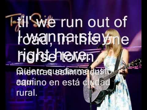 Fearless - Taylor Swift (Lyrics Español e Inglés)