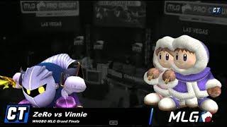 WHOBO MLG - CT ZeRo vs CT Vinnie - Grand Finals - SSBB
