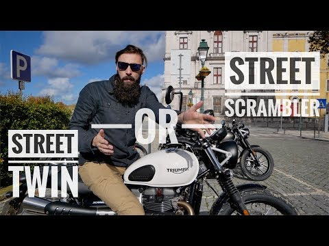2019 Triumph Street Twin / Street Scrambler Review