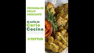 Tottus Marcas Propias   Carlo Cocina - Pechuga de pollo crocante