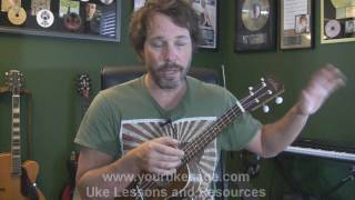 Ukulele lessons How to tune your ukulele by ear - beginner uke lessons ukulele yourukesage