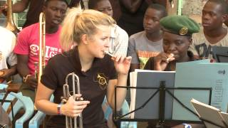 "Alison Balsom and Guy Barker, ""Music as a Healer"" Brass for ..."