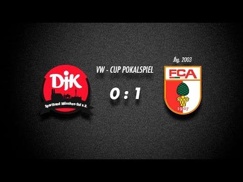 VW Cup Vorrundenspiel U12 DJK vs U13 FC Augsburg
