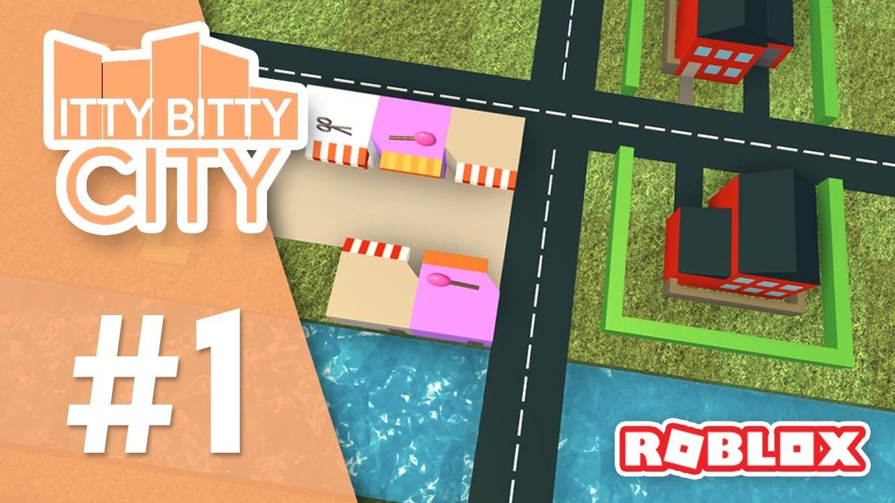 Itty Bitty City #1 - MAYOR SENIAC (Roblox Itty Bitty City)